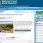Talking Belize on Canada National Travel Radio