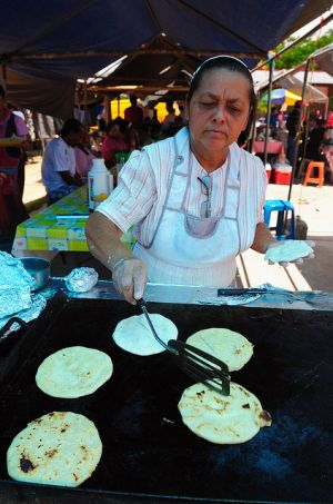 Fresh tacos at the Saturday market  - San Ignacio, Belize