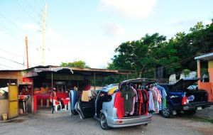 Mobile shop - Montego Bay, Jamaica