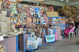 Afternoon shopping - St. Lucia
