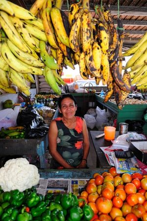 Saturday market - San Ignacio, Belize