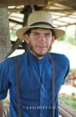 Andrew Perez from Barton Creek, a Mennonite village in western Belize