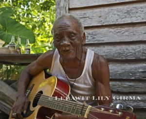 The one and only Paul Nabor, Garifuna legend and musical hero
