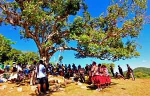 6b. The Kindah Tree is a sacred seal or site where the elders used to gather for important ceremonies or war meetings.