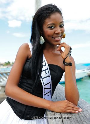 Miss Belize: Idolly Louise Saldivar
