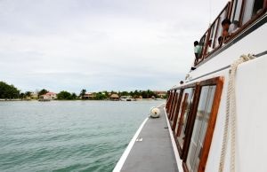 Approaching St. George's Caye