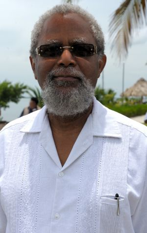 Governor-General of Belize, Colville N. Young, Sr., made it to the launch event
