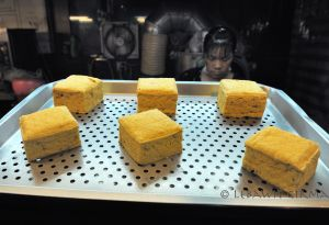 One of Taiwan's traditional snacks: Stinky Tofu