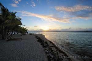 Sunrise on South Water Caye