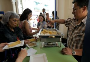 Hot tamales flowing at the Mexican Cultural Institute