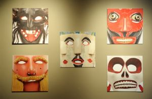Mask exhibit at the Mexican Cultural Institute - Passport DC Round the World Embassy Tour