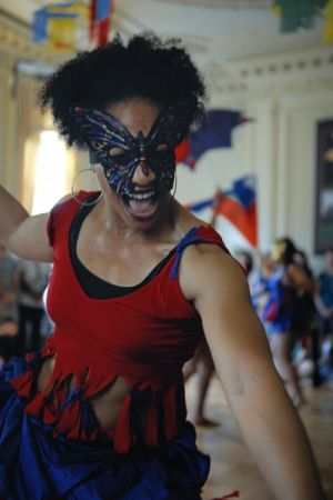 Dancers pull in the crowd at Embassy of Haiti - Passport DC